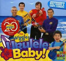 THE WIGGLES Ukulele Baby! CD NEW Featuring Songs With Rolf Harris Daryl Somers