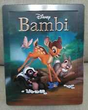 Bambi Bluray Steelbook Disney Zavvi UK Region Free