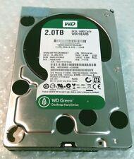 "2TB WESTERN DIGITAL WD20EARS WD Green 3.5"" SATA Hard Disk Drive"