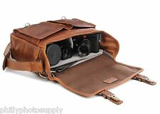 ONA Prince Street Leather (Cognac) Camera Messenger Bag >Handcrafted Premium Bag