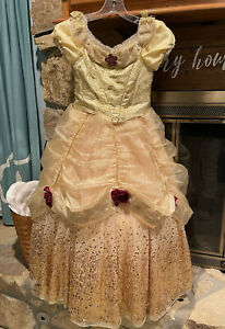Disney Deluxe Limited Edition Belle Dress Numbered 1 of 2,500 size 8 halloween