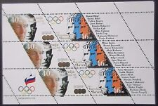 Slovenia 1992 Olympics Sheet(3 Sets). MNH