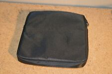 External Dell USB CD DVD Writer Blu-Ray Protective Storage Carrying Case Black