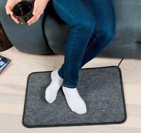 Electric Heated Foot Warmer 230V Heating Carpet Feet Pad Mat Heater Heizteppich