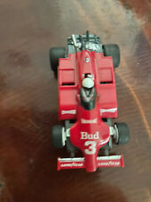 New listing Tyco Budweiser Indy F1 #3 Ho Slot Car 440-X2 CHASSIS Missing Spoiler Has Power