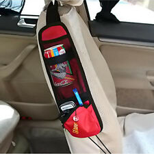 RED Car Seat Side Storage Organizer Interior Multi-Use Bag Accessory New