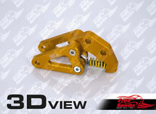FREE SPIRITS BUELL XB BELT TENSIONER - HOT YELLOW - 207550G **IN STOCK**