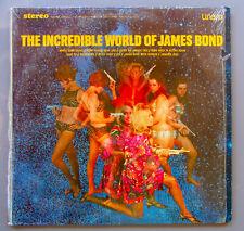 The Incredible World Of James Bond Soundtrack Music Vinyl Lp Unart S 21010