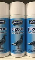Johnsons Pigeon Mite Lice Powder for Pigeons Birds and Coops 1 x 50g  SPON