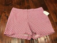"""Brooks Brothers """"346"""" Pink Shorts, Size 10"""