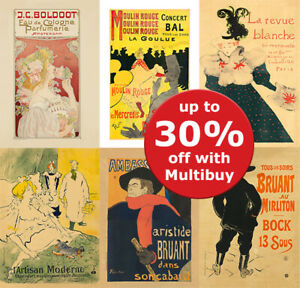 VINTAGE FRENCH ART ADVERTISING Posters Print retro Wall Art