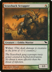 1X FOIL Scuzzback Scrapper MTG Magic SHADOWMOOR 217/301