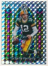 Aaron Rodgers 2020 Panini Mosaic #6 Stained Glass Packers Sp Mint Rare $200