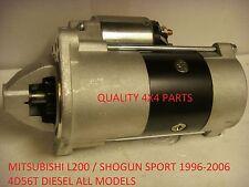 MITSUBISHI L200 Shogun Sport 4D 56 Diesel 2.5 MOTORINO AVVIAMENTO NUOVO