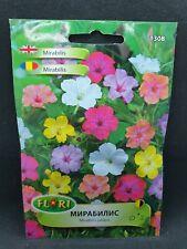 Mirabilis Jalapa Seeds Mix Colours Delicate Flower Pretty English Garden