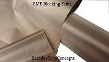 """EMF RFID RF Shielding Copper Fabric Roll - 43"""" x 20' (feet!) of Material"""