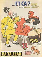 Publicité Paris art nouveau français revue et ca hat imprimer lv375