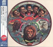 The Spinners Mighty Love CD 2014 (12 Tracks) With Japanese OBI Strip