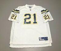 LaDainian Tomlinson #21 San Diego Chargers NFL Reebok Football Jersey Size XL