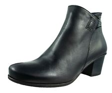 Dorking By Fluchos Brisda Ankle Boots Women Leather Black Ref.D7927