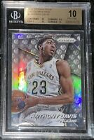 2014 Anthony Davis PANINI PRIZM SILVER SP PHOTO VARIATIONS 5 BGS 10 PRISTINE PSA