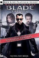 DVD - Action - Blade Trinity - Wesley Snipes - Ryan Reynolds - Jessica Biel