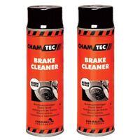 Bremsenreiniger 2 x 500ml Spray Entfetter Teilereiniger Reiniger Bremsen Cleaner