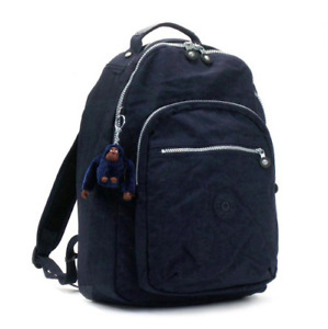 Kipling SEOUL Backpack w/ Laptop Protection True Blue Navy Full Size NEW Tags