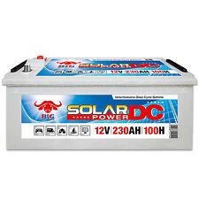 Solarbatterie 12 V 230 Ah (100h) BIG DCS Antrieb Beleuchtung Boot Versorgungs