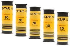 Pellicola medio formato Rullino Colore Kodak Ektar 100 120 5pz.
