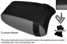 BLACK & GREY CUSTOM FITS TRIUMPH THUNDERBIRD 1700 1600 REAR SEAT COVER
