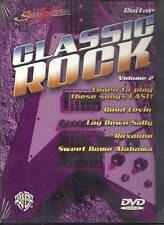 CLASSIC ROCK GUITAR DVD TUTOR VOLUME 2 LEARN TO PLAY NEW