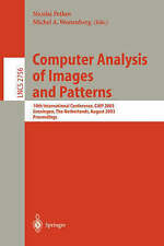 Computer Analysis of Images and Patterns: 10th International Conference, CAIP 20