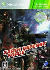 Used Xbox 360 Earth Defense Force MICROSOFT JAPAN JP JAPANESE JAPONAIS IMPORT