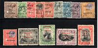 """Malta - (14) 1928 Overprints """"Postage and Revenue"""" / Used  -   Lot 1020139"""