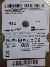 500GB Samsung ST500LM016 HN-M500XBB | P/N: C7272-G12A-A68R8 | 03.2012 #412