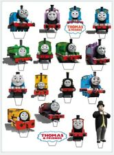 17 Thomas Train Tank & Friends STAND UP Cupcake PRE-CUT Topper Edible Wafer