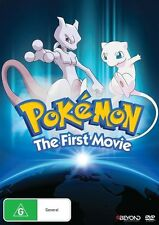 Pokemon 1 : The First Movie - Mewtwo Strikes Back : NEW DVD