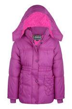 Manteaux, vestes et tenues de neige rose avec capuche manches longues pour fille de 2 à 16 ans