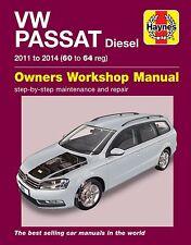 Haynes Manual Volkswagen Passat Diesel 2011-2014 NEW 6361