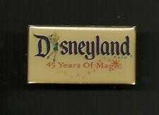 Disneyland 45 Years of Magic Tinker Bell Splendid Walt Disney Pin