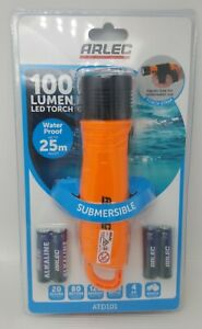 Arlec 100 Lumens LED Torch Submersible Battery operated