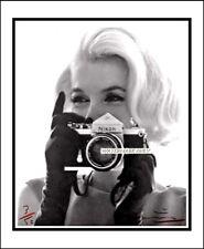 Bert Stern Firmado. Marilyn Monroe, 100% algodón Canvas. edición Limitada (177)
