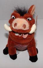 "Lion King Pumbaa Mini Bean Bag Plush 8"" Especially For Disney Store - NWT RARE"
