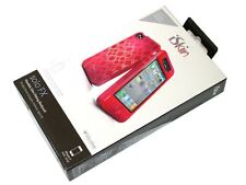 New iSkin Solo FX Case for iPhone 4 - Blaze Red SOLOFX4-RD1 - FREE SHIPPING