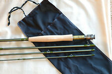 by Roger dull matte brown 1 TIP 11 FT NYMPHING  FLY ROD KIT 4 WT 4 PC IM6