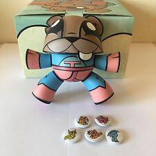 SDCC Kidrobot Joe Ledbetter SUPER TEETER 2007 JLED Vinyl Art Toy LE 500 + BONUS