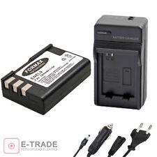 1300mah EN-EL9 EN EL9 EN-EL9A Li-ion Battery + CHARGER For Nikon D3000 D5000 D40