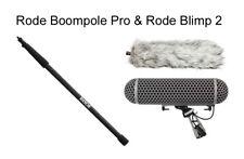 Rode Boompole Pro Carbon Fiber 10' Boom Pole + Blimp Blimp2 Windshield Combo