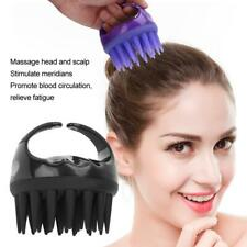 Hair Washing Silicone Massager Scalp Brush Shampoo Massage Comb Shower Head MR